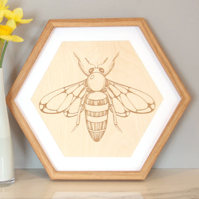 Hexagon Picture Frame