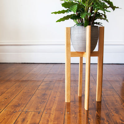 Mid century style modern plant stands in 3 sizes