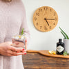Gin O'clock - Wooden clock for gin lovers
