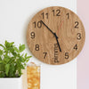 Pimms O'clock - Wooden clock for pimms lovers