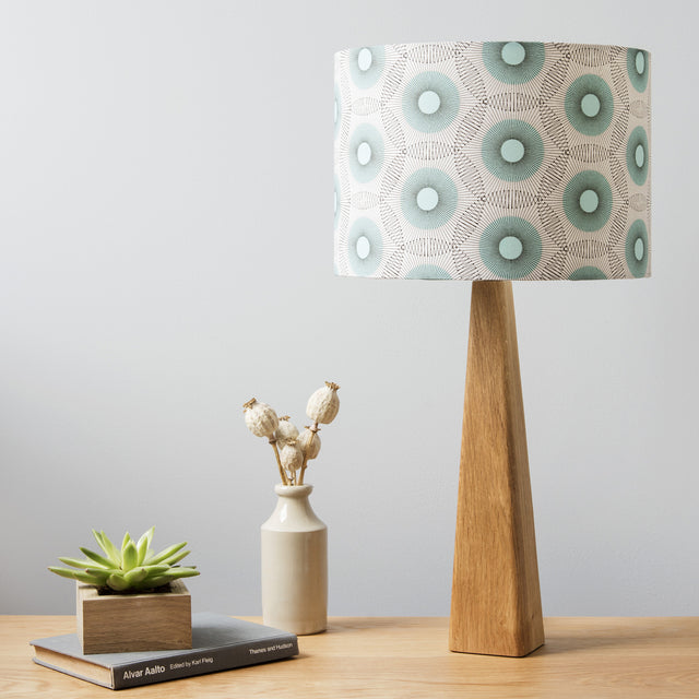 Starburst Lamp and Shade