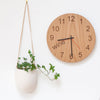 Wine O'clock - Wooden clock for wine lovers