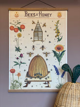 Bees & Honey 2.0 Vintage Poster