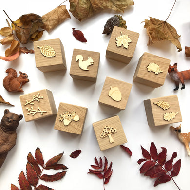 Autumn Oak Blocks