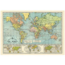 Map of the world Vintage Posters!