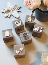 Easter Oak or Walnut Blocks