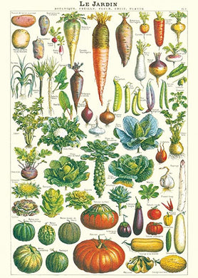 Le Jardin Vegetable Vintage Poster