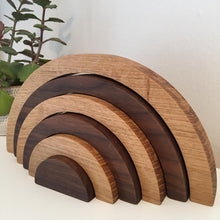 Oak & Walnut Solid wood rainbows