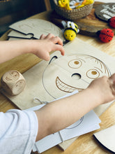 Emotions wooden set