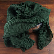 Crinkled Hijabs - Petroleum Green (Last piece)
