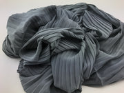 Chiffon pleated - Grey #019