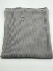 Cashmere pleated chiffon - Greys