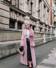 Rippled Hijab - Mauve #16