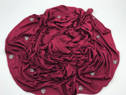 Crystal jersey (NEW ARRIVAL) - BURGUNDY