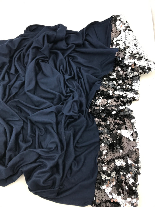 Prestige sequins single side - dark blue