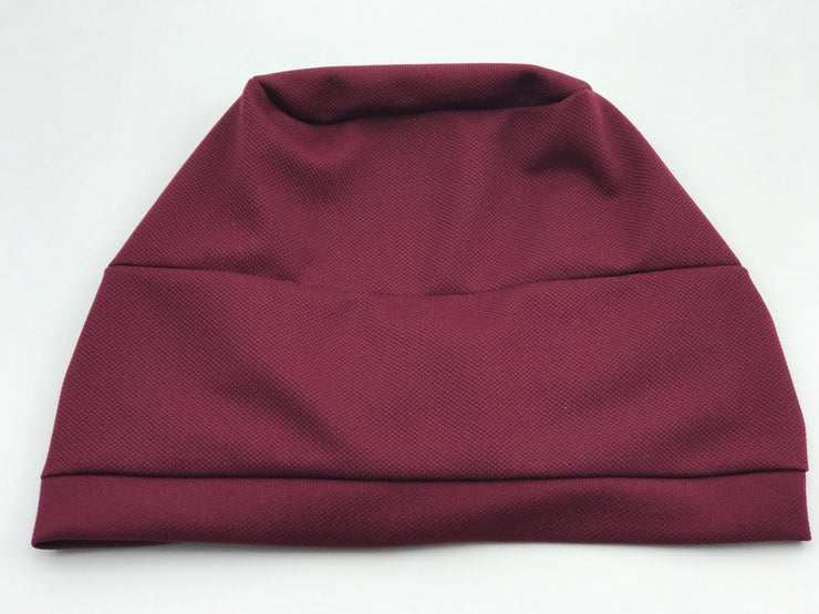Turban - cotton burgundy