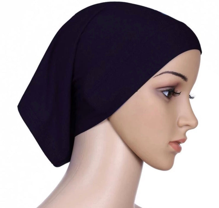 Under scarf cap black #1