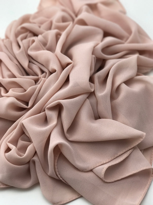 Premium Chiffon - Pale Pink ( New arrival )