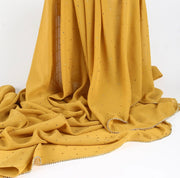 Stone Chiffon - yellow ( last piece )