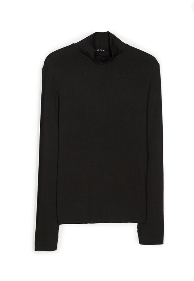 High neck top - Black small size (last piece)