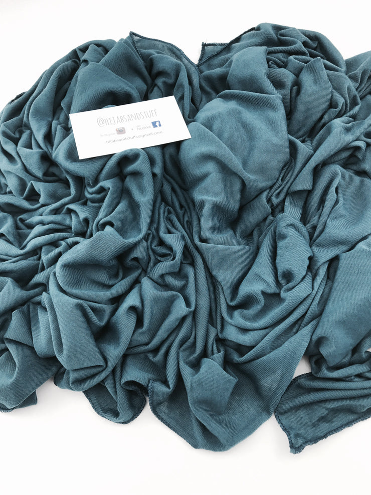 Spring jersey (polyester) - Teal #107