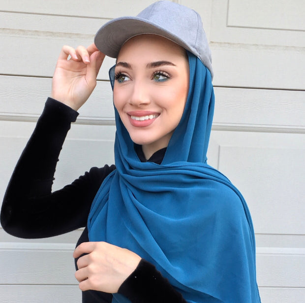 SUMMER CAPS - Cloud Suede - Hijabsandstuff