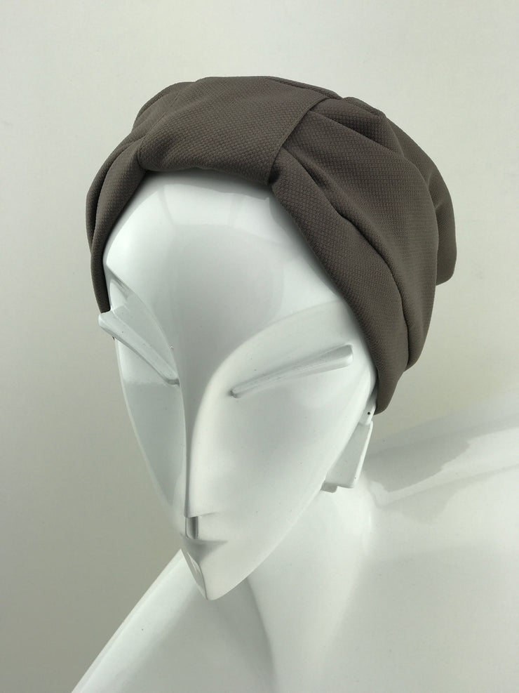 Turban - cotton brown (one last piece)