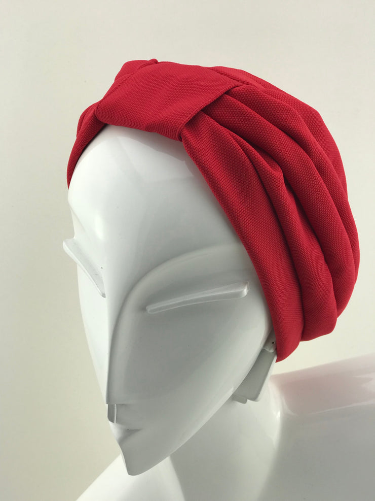 Turban - soft red