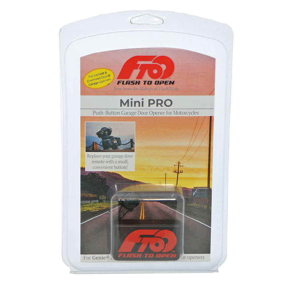 Mini Pro For Motorcycles Genie And Overhead Door Flash