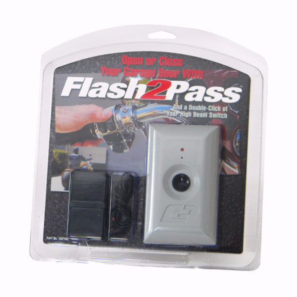 Flash2Pass Complete Garage Door Opening System For Motorcycles
