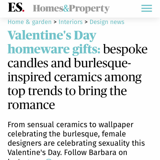 Evening Standard - Valentine's Day Homeware Gifts