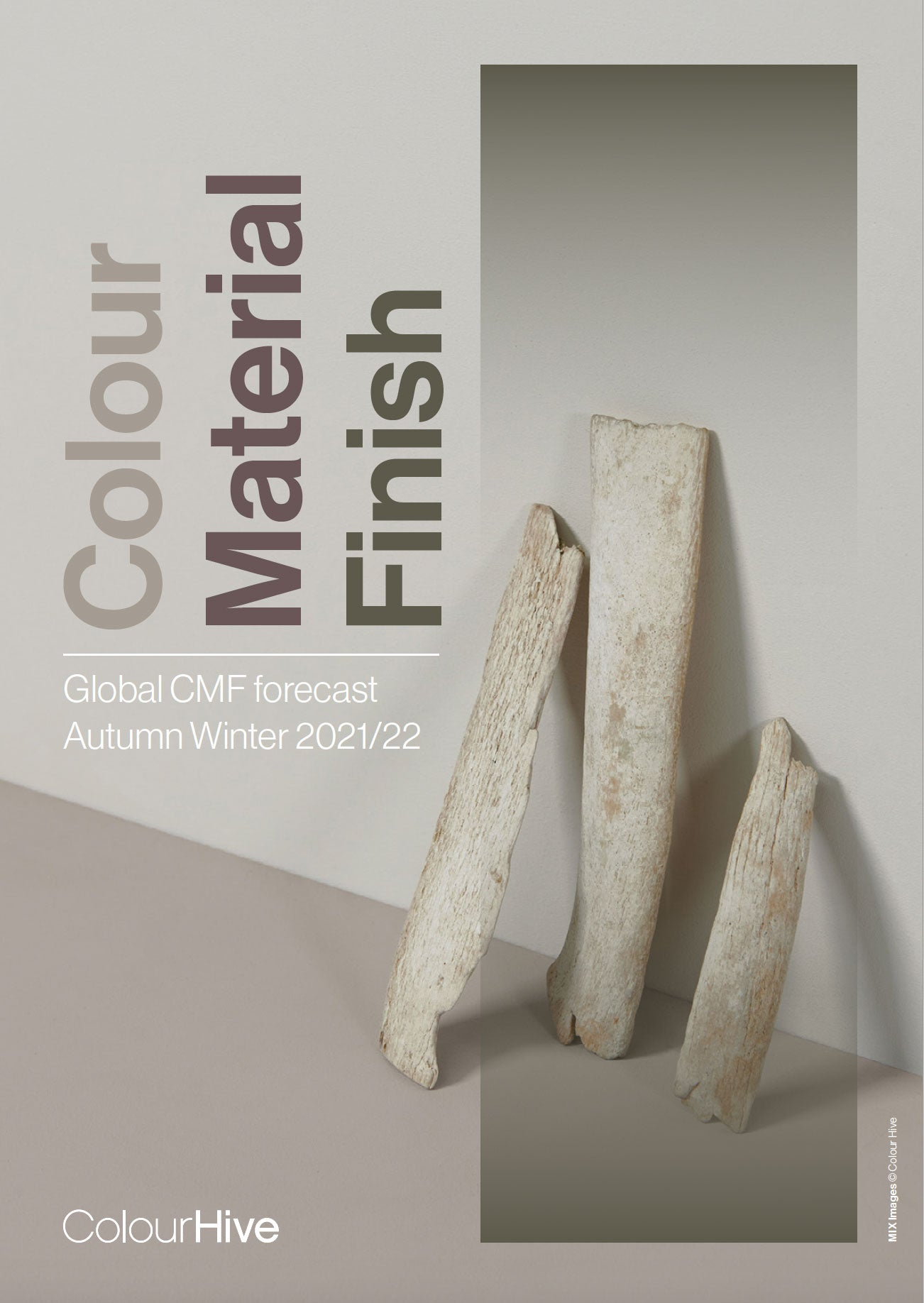 'Disorder in Stasis' featured in the Colour Hive Trend report Autumn Winter 2021/2022