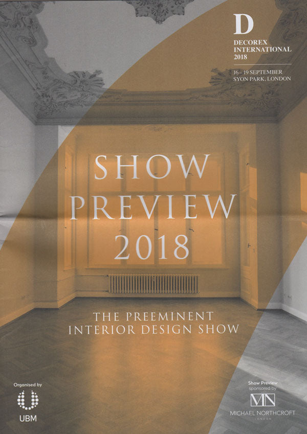 Decorex International Show Preview 2018