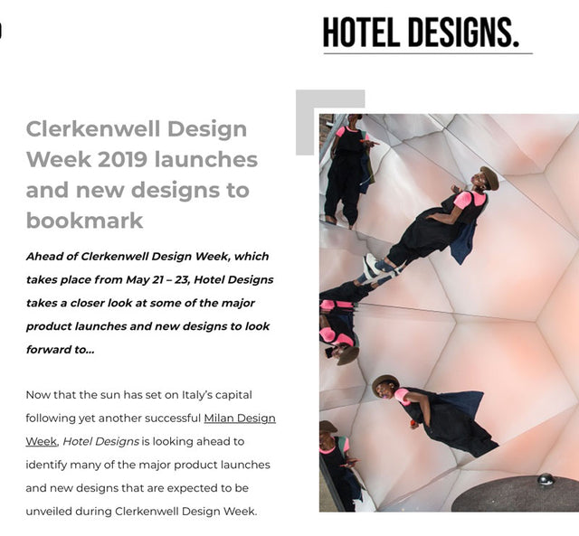 Hotel Designs Clerkenwell Design Week 2019 Preview Featuring The Monkey Puzzle Tree