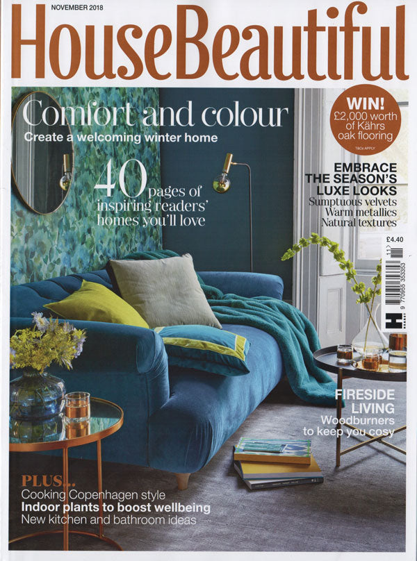 House Beautiful November 2018 Inspiring Homes