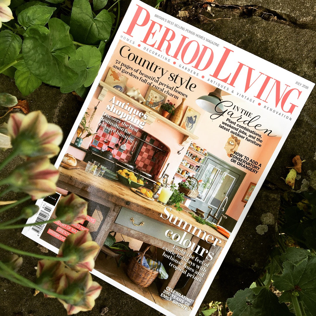 Period Living July 2018 Feature on The Monkey Puzzle Tree
