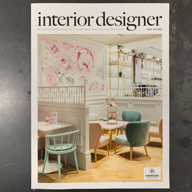 Interior Designer Magazine feature on The Monkey Puzzle Tree