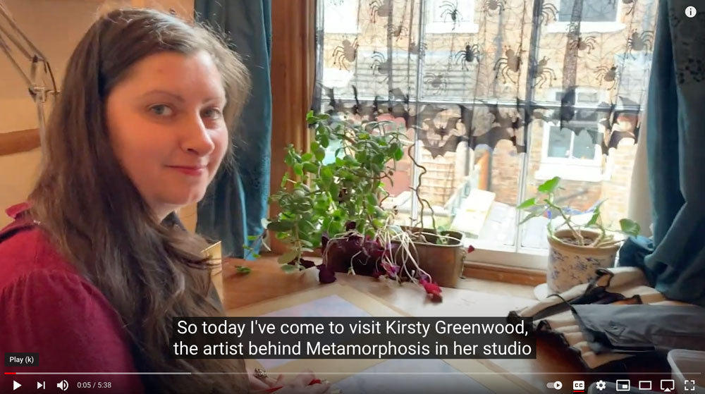 The Story behind Metamorphosis linen union with Kirsty Greenwood