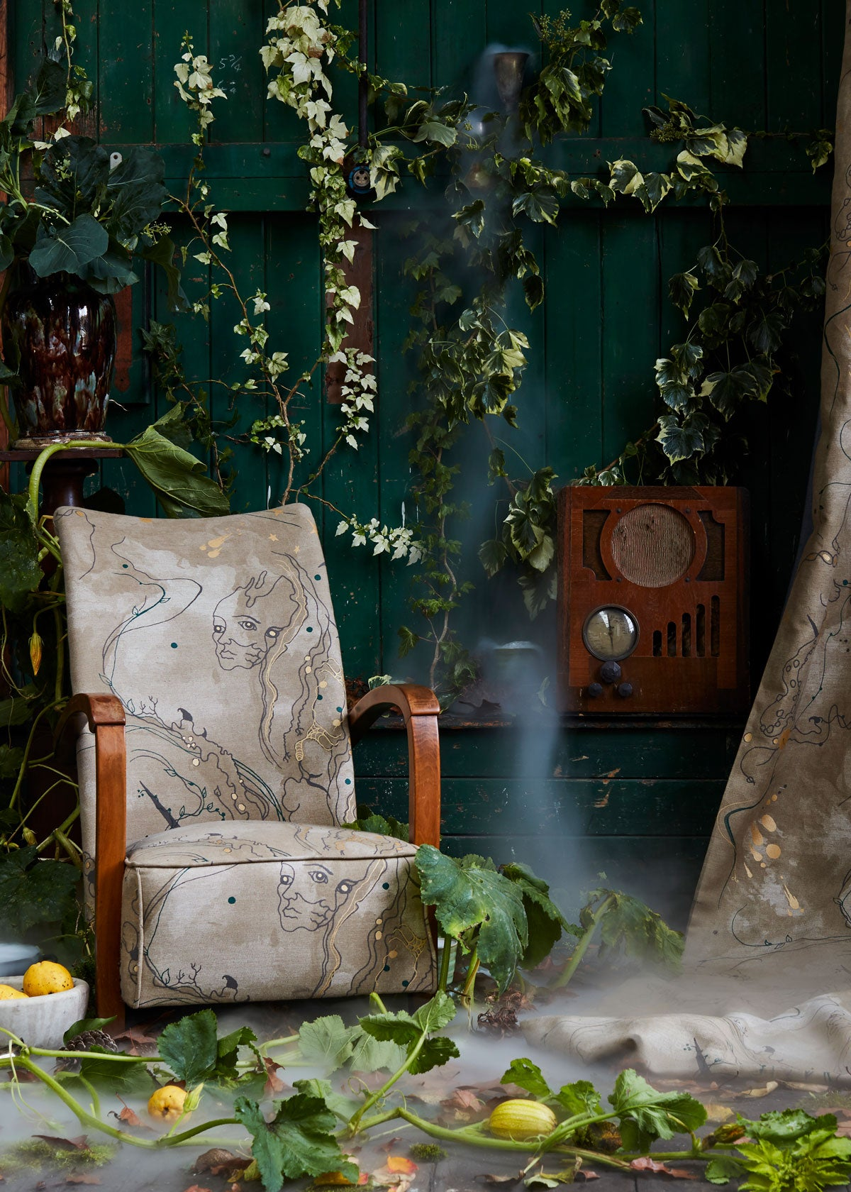 Interiors Photography - How we planned our wallpaper and fabric shoot