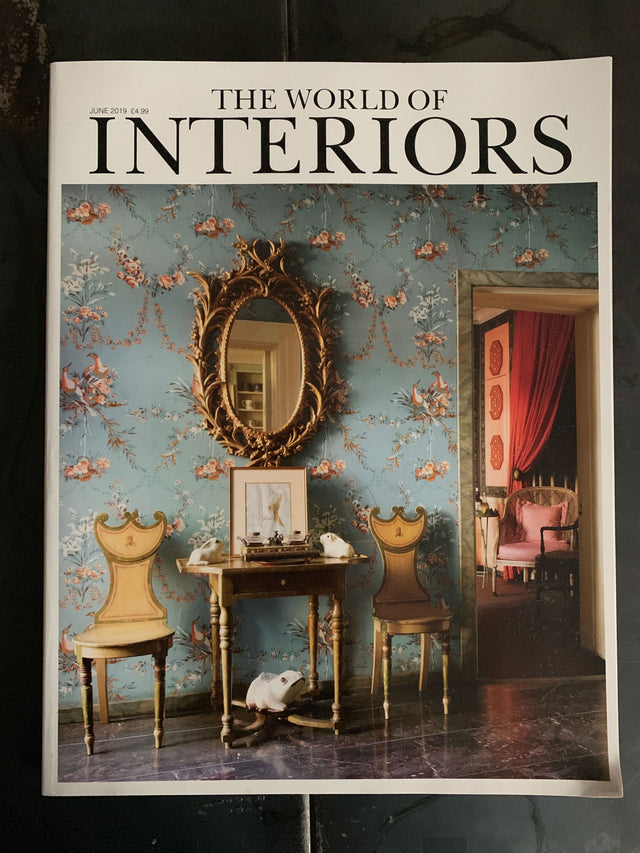 World of Interiors magazine June 2019 with The Monkey Puzzle Tree