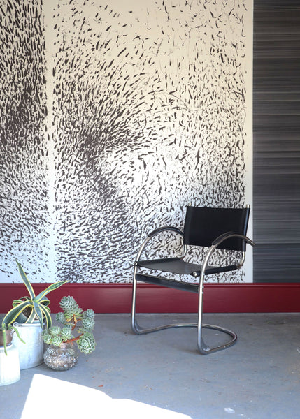 Disorder in Stasis wallpaper by Joel Weaver for The Monkey Puzzle Tree