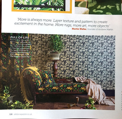 Essential Kitchen Bathroom Bedroom magazine August 2018 featuring Alexis Snell by The Monkey Puzzle Tree