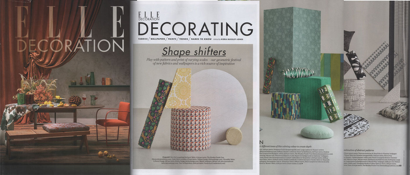 Elle Decoration October 2019 featuring The Monkey Puzzle Tree