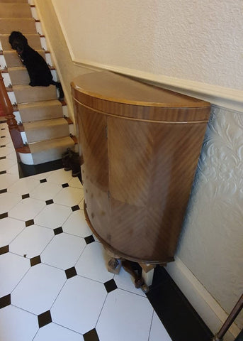 Before hall cabinet shoe cupboard for upcycling