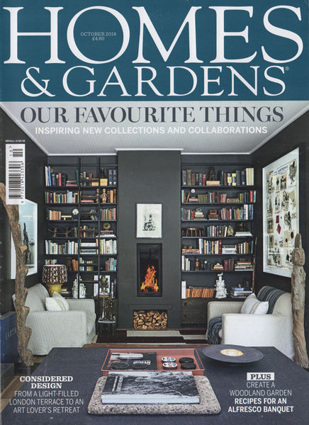 Homes and Gardens Magazine October 2018 Featuring The Monkey Puzzle Tree