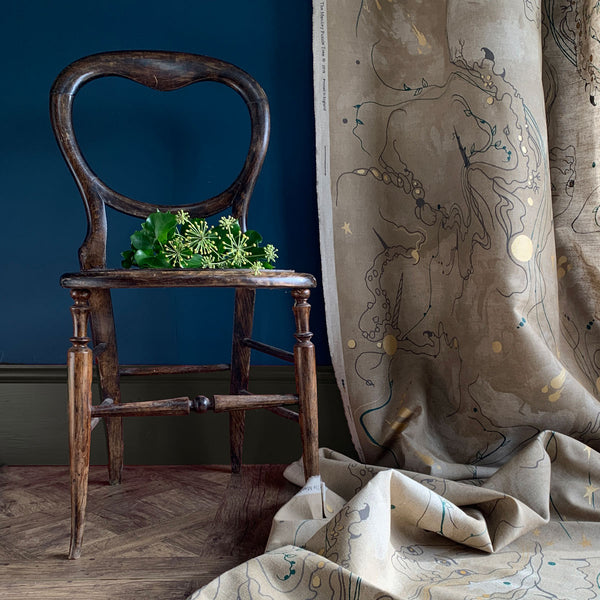 Metamorphosis linen union by Kirsty Greenwood for The Monkey Puzzle Tree