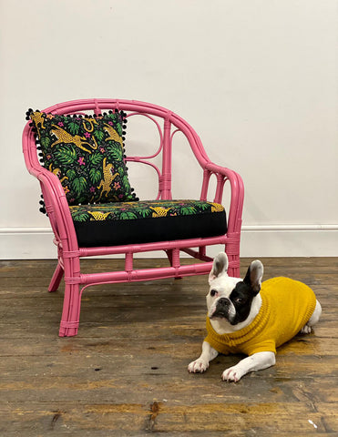 BBC Money For Nothing Reloved Upholstery and The Monkey Puzzle Tree Chair Upcycle