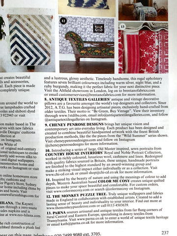 World of Interiors July 2019 with The Monkey Puzzle Tree