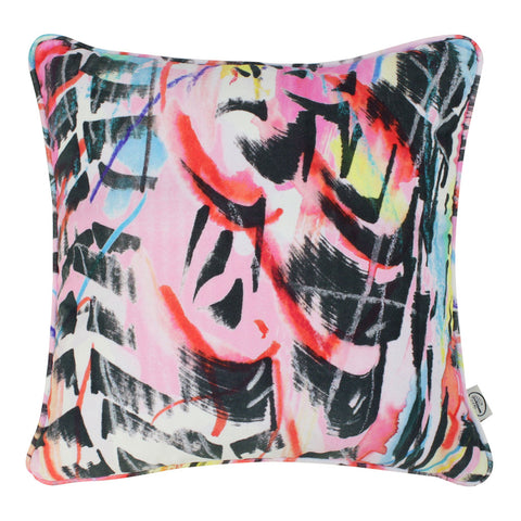 Rita does Jazz Velvet Cushion