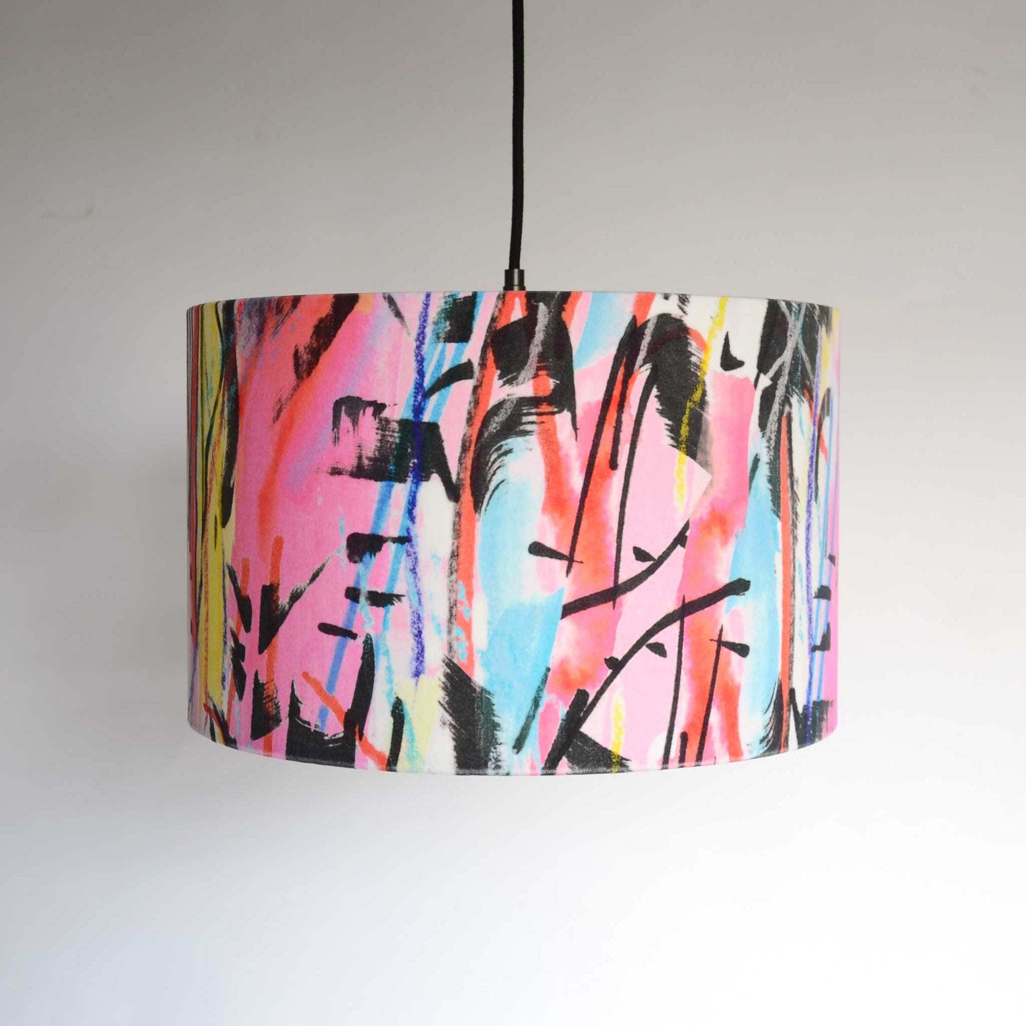 Rita does Jazz large pendant lampshade